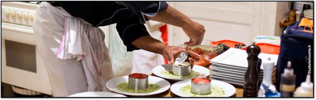 la belle assiette week-end gourmand benjamin Kalfia Top Chef 2012 diner à domicile cours de cuisine brunch