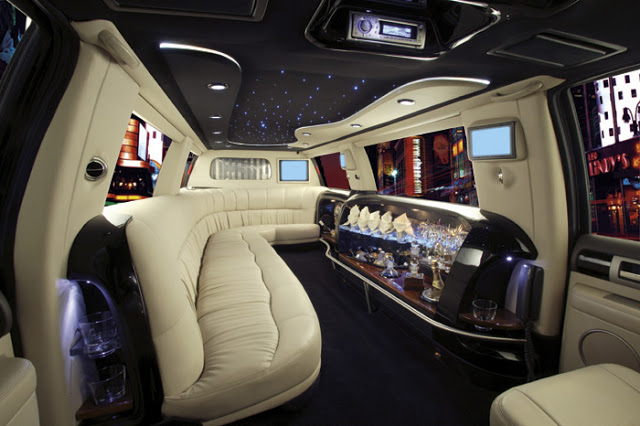 Luxurious And Hassle Free Traveling Tips Hummer Limo Interior