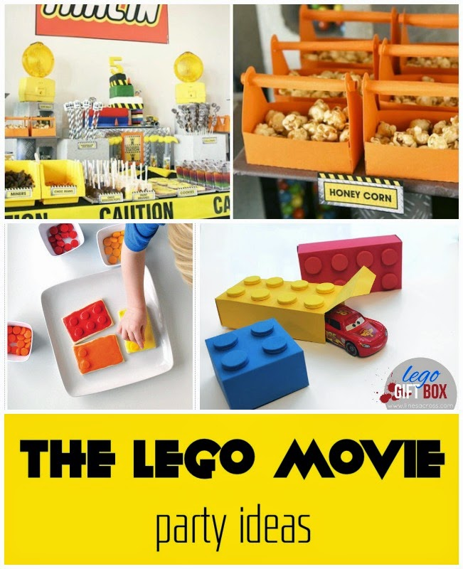 The LEGO Movie watching party ideas