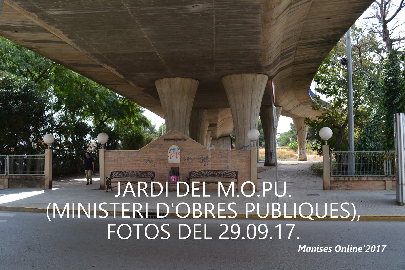 03.10.17 EL JARDÍN DEL MOPU