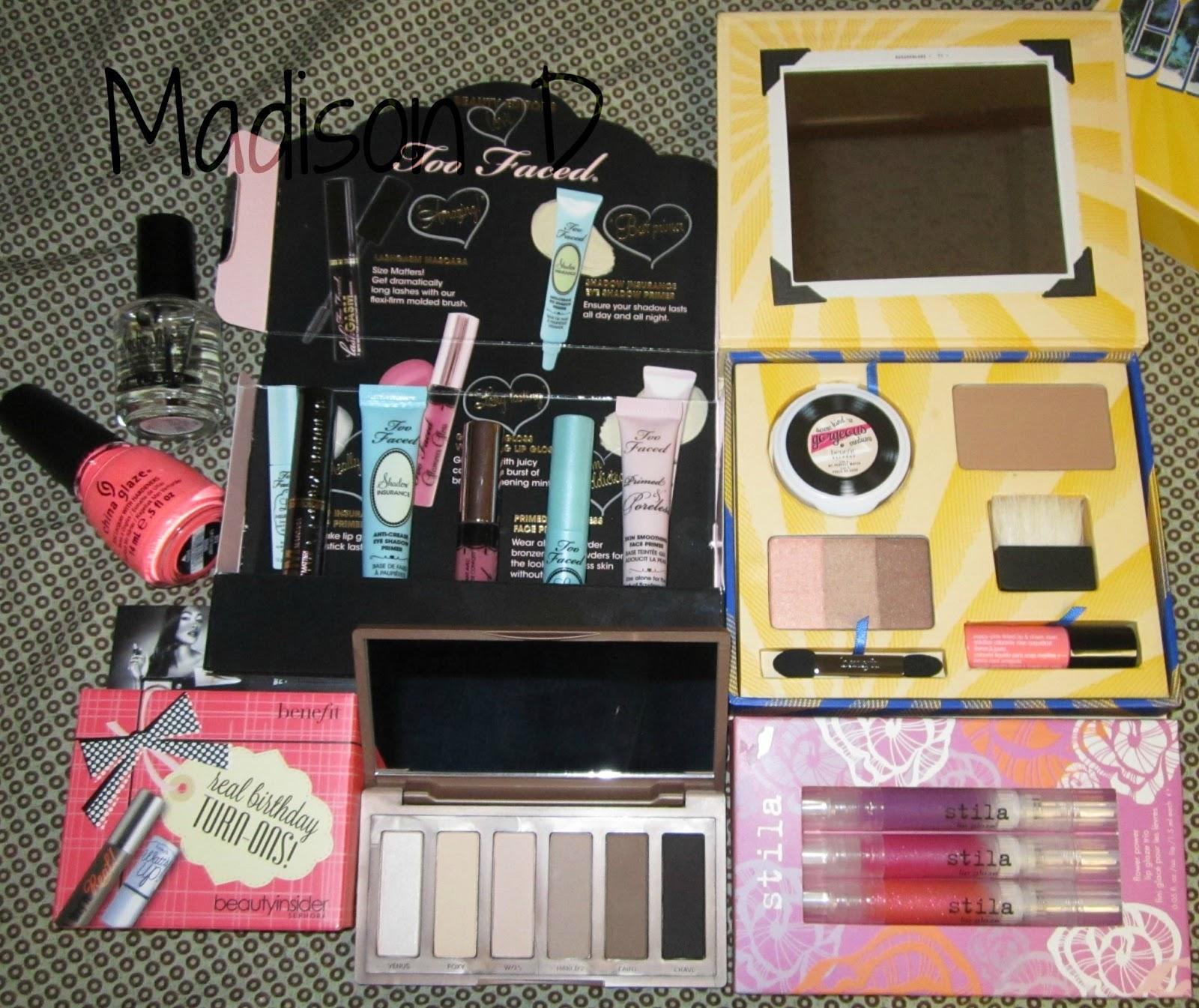 Madison's Nails & Makeup: Birthday Gifts & Haul