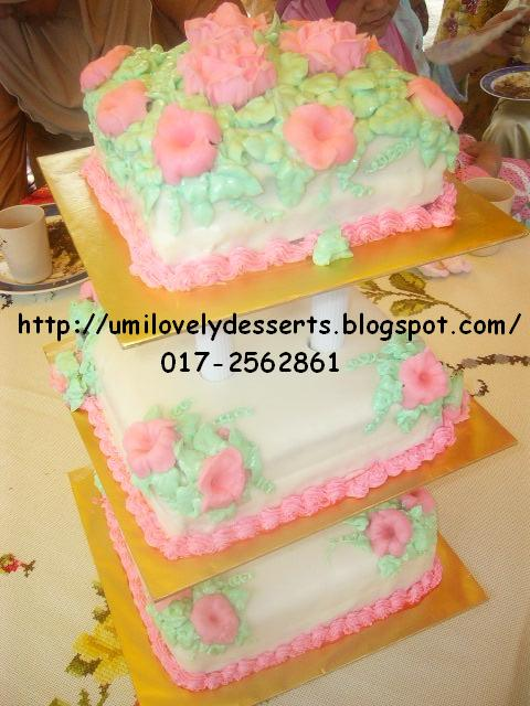 3tIEr wEDdiNG caKE + 32pcs cuppies wiTH buTTerCReaM IciNG