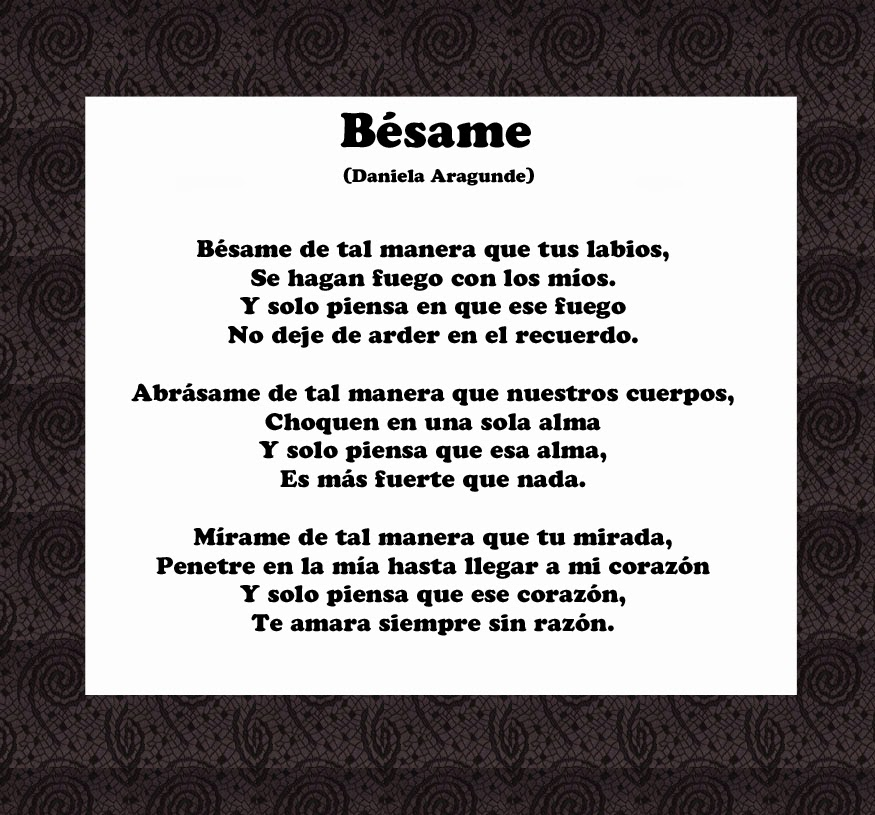 Fotos Poemas De Amor - Poemas Romanticos y Poemas de Amor Facebook