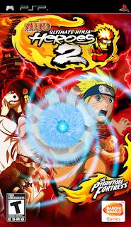Naruto: Ultimate Ninja Heroes 2: The Phantom Fortress PSP GAME