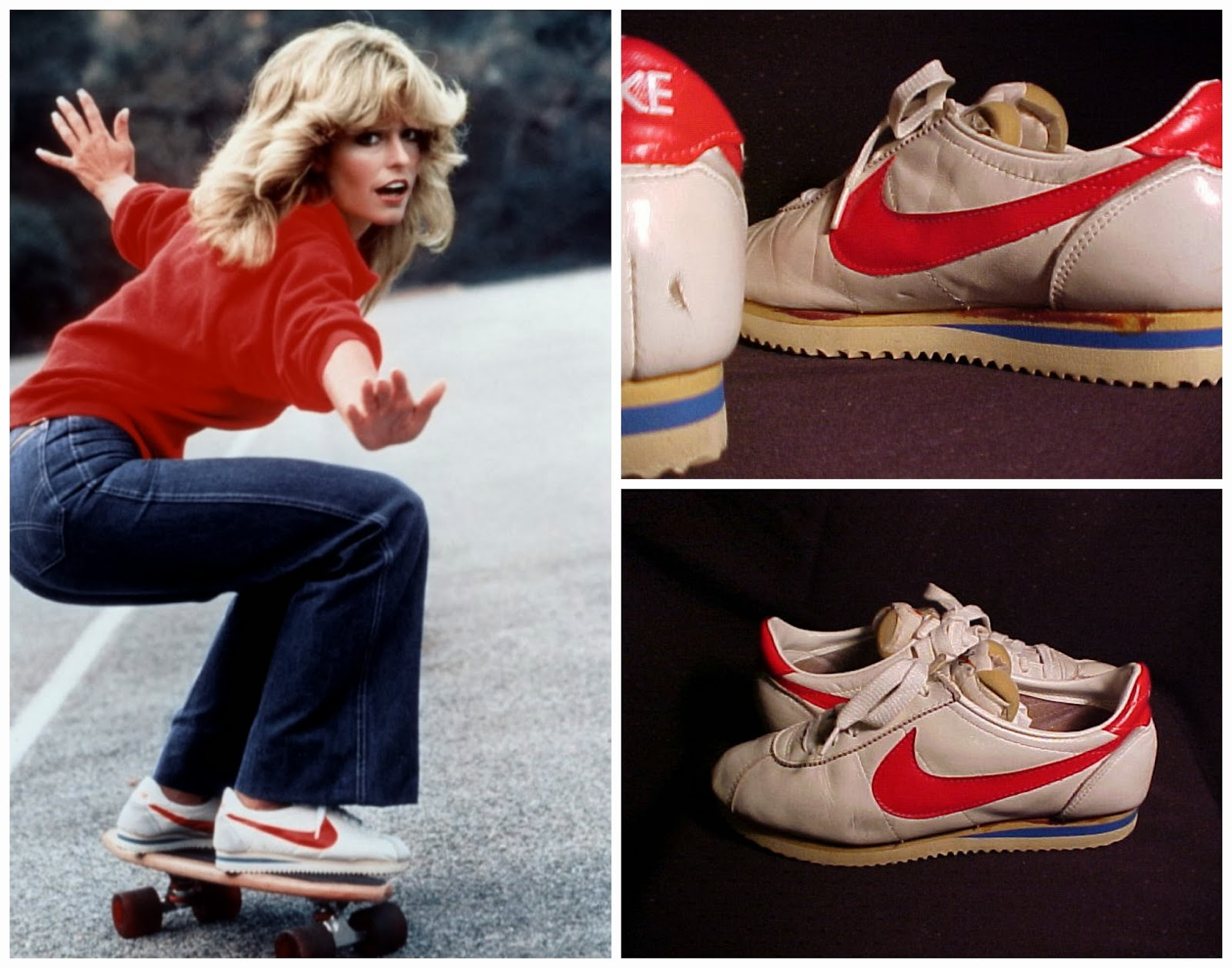 "new concept 4d728 05d61 In 1977, somebody from Nike got a pair of shoes called the ""Senorita Cortez""  ..."