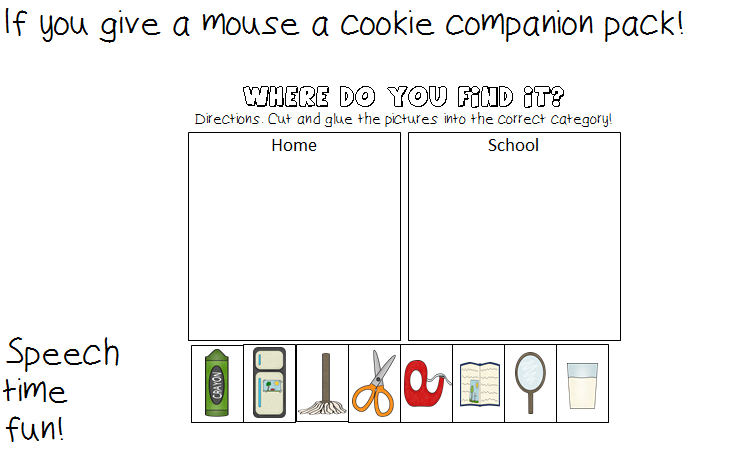{If You Give A Mouse A Cookie Lessons Tes Teach – If You Give a Mouse a Cookie Worksheets