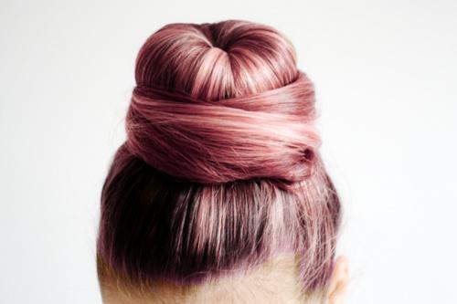 cabello+atado+rosa+nuevo+look