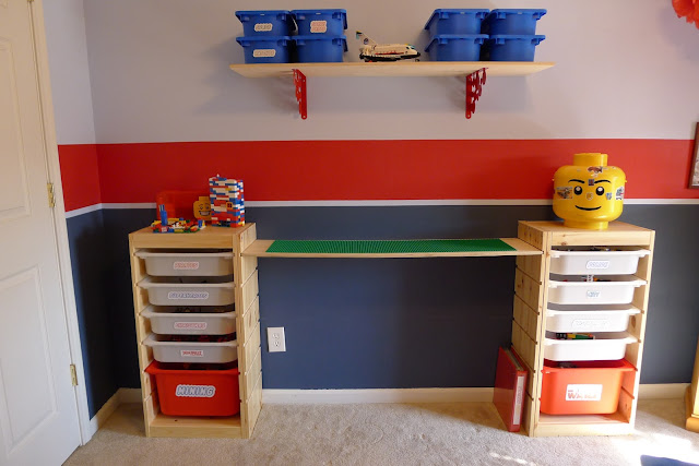 That mommy blog lego storage and play table an easy ikea for Table lego ikea