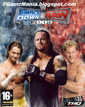 WWE SmackDown Vs Raw 2009 Highly Compressed PC Game Download
