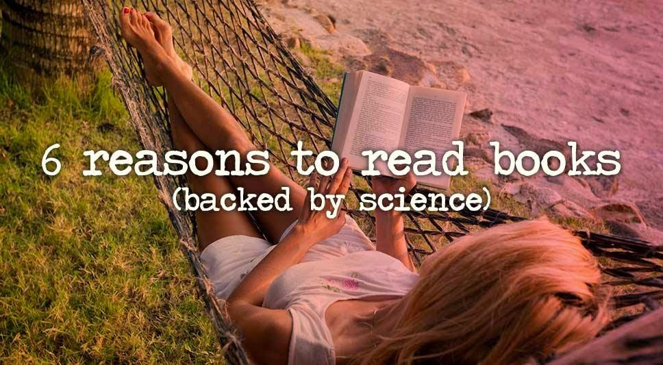 6 Reasons Science Says you Should Read a Book