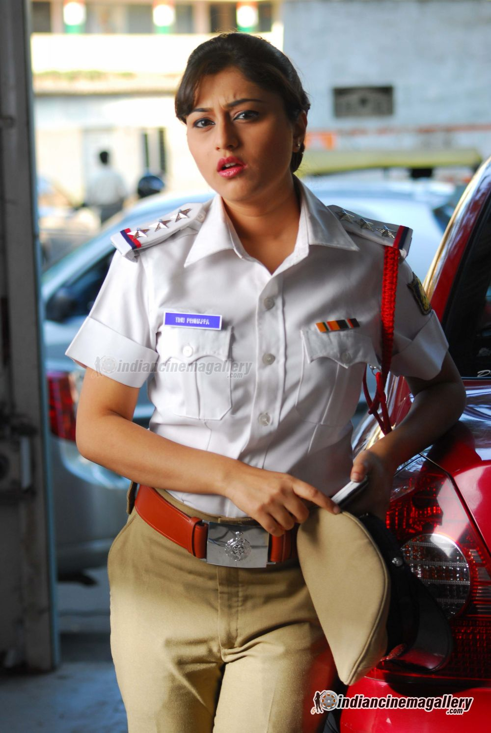 Ramya Barna in traffic police dress - Ramya Barna Hot