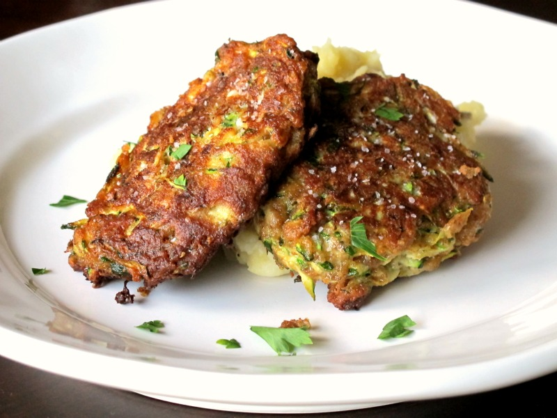 A Toast to Taste: Zucchini Fritters