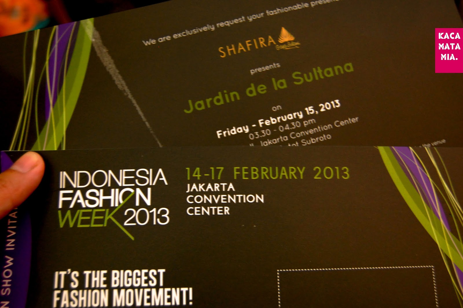 Miafauzia housewifing with style from indonesia fashion indonesia fashion week 2013 was on and i got invitations to shafira fashion show entitled jardin de la sultana i like one of this indonesia moslem brand stopboris Images