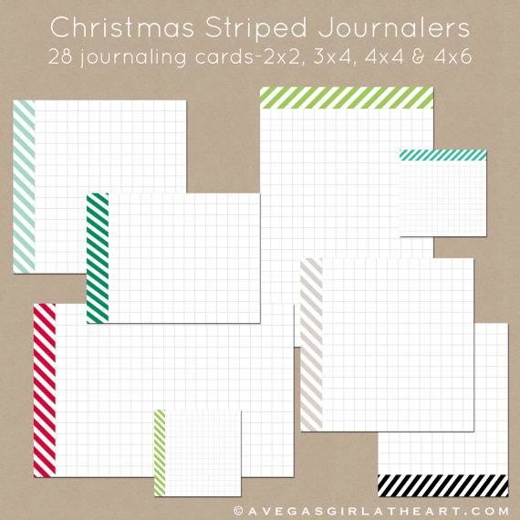 https://www.etsy.com/listing/168198003/christmas-striped-journalers-set-of-28