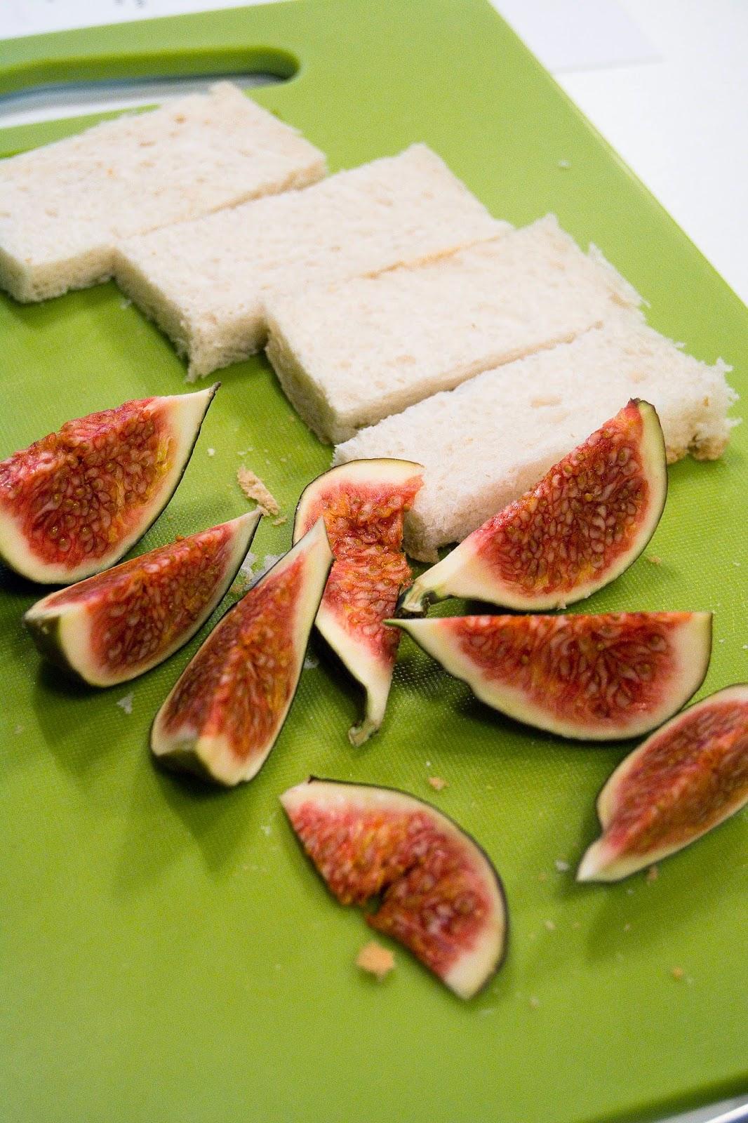 Tosty z figami kuchnia francuska