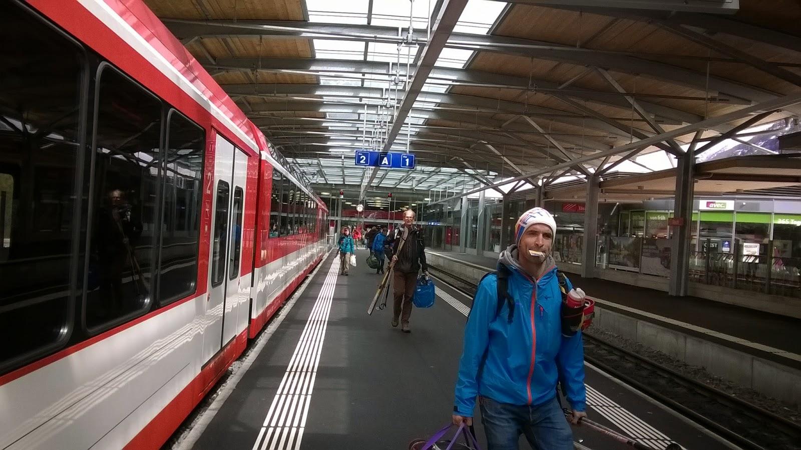 trein tasch naar zermatt