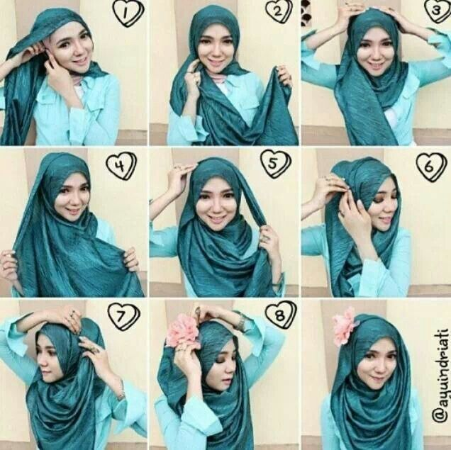 comment mettre foulard hijab moderne hijab fashion and chic style. Black Bedroom Furniture Sets. Home Design Ideas