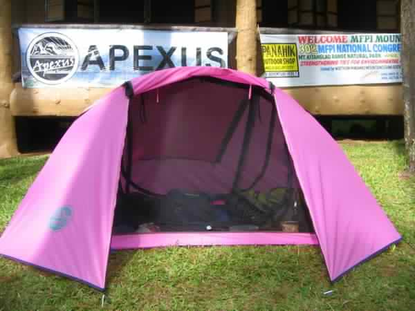 The price per tent is P5800 & Bboss Gears: Micralite Tent (brand is apexus)