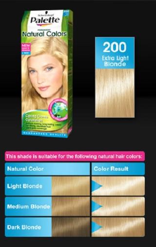 Palette Naturals Color Saç Boyası Renkleri Kataloğu 2014 ve Fiyatı
