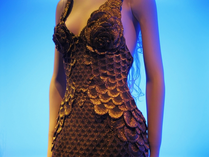 Jean Paul Gaultier Mermaid Dress Kunsthal Rotterdam