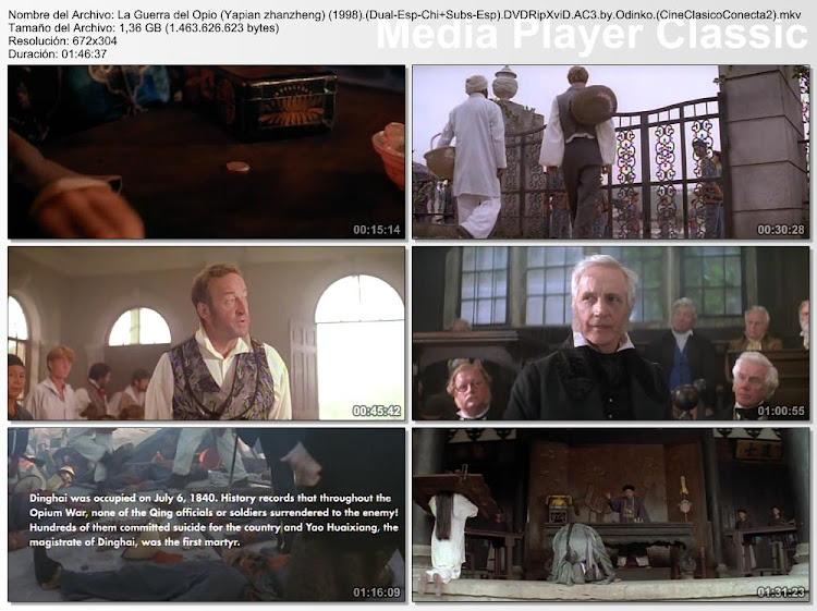 Imagenes de la película: La guerra del opio | 1998 | Yapian zhanzheng (The Opium War)