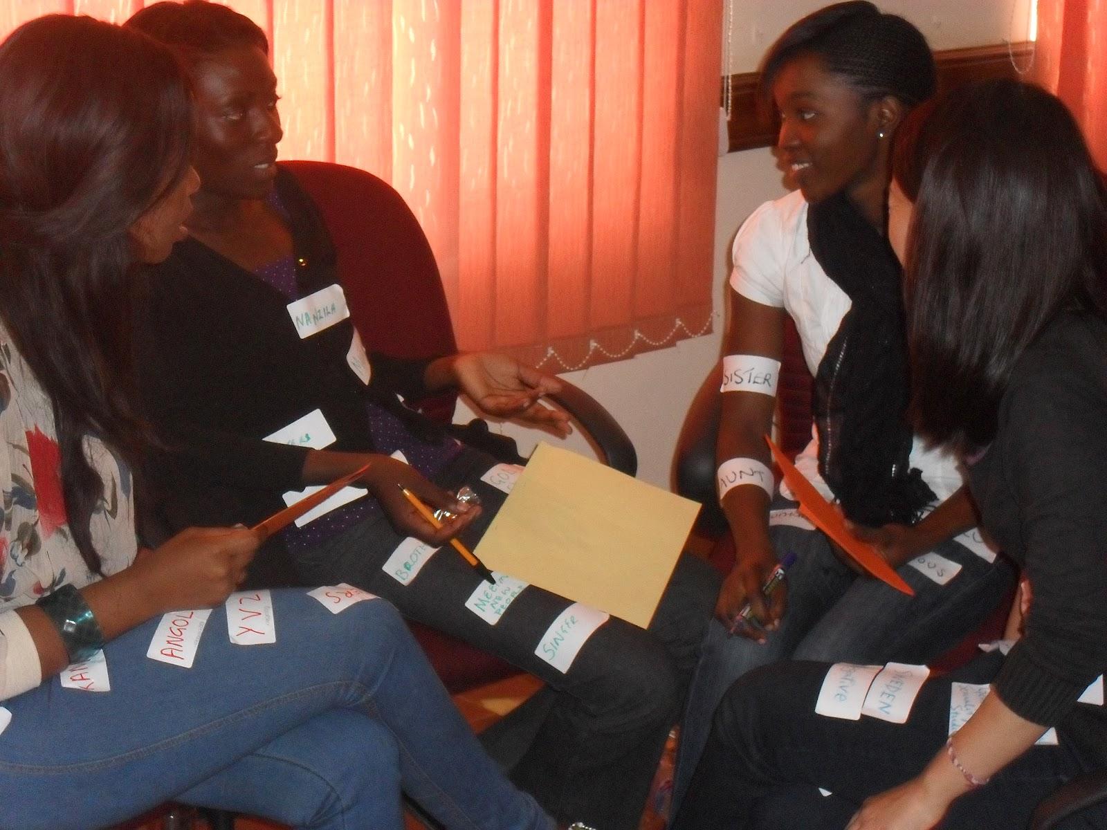 Young Women Leadership Camp Zambia 2012