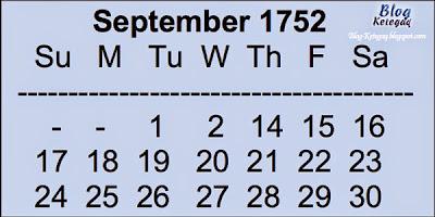 11 hari yang hilang dalam sejarah dunia