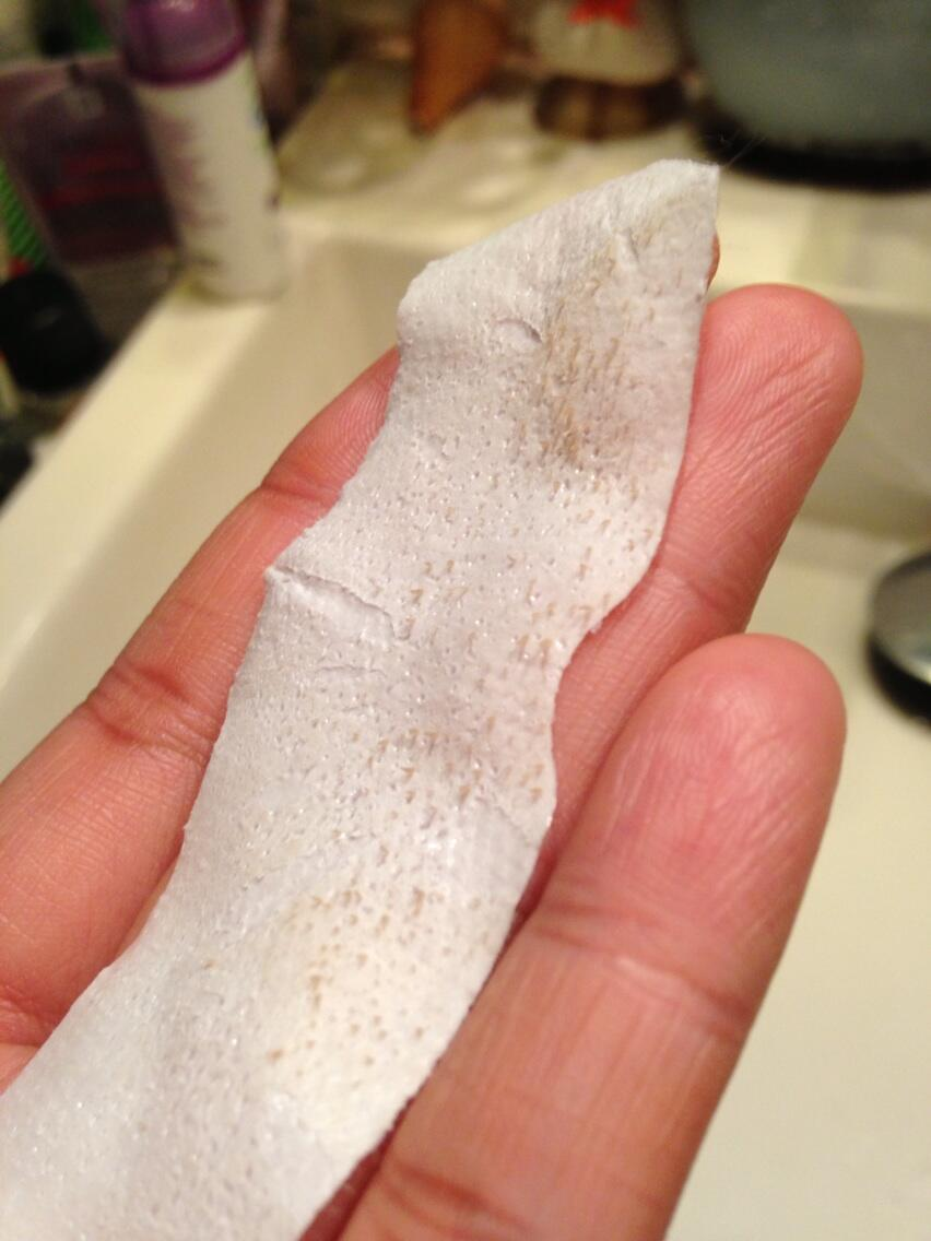 Pore cleansing strips