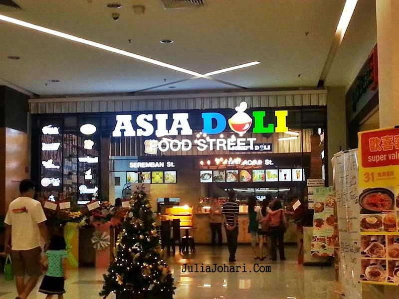 ASIA DOLI Food Street Setapak Central Memukau Pelbagai Rencah Makanan
