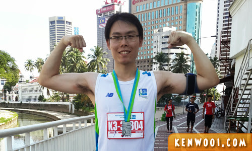 kl marathon 2013 finisher