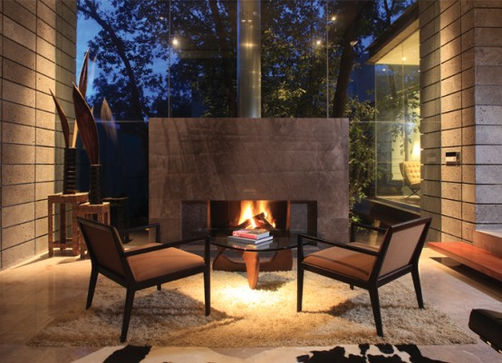 Mountain Home Fireplace Design