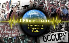 Community Public Radio News is an alternative radio network which has featured Abayomi Azikiwe