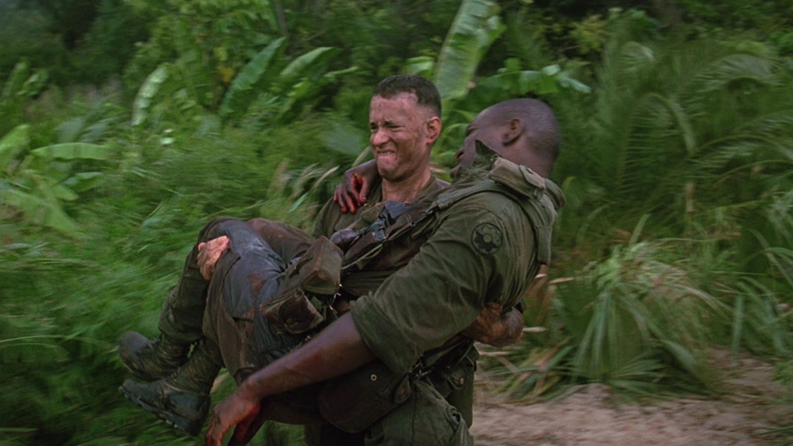 Forest Carrying Bubba From The Battlefield