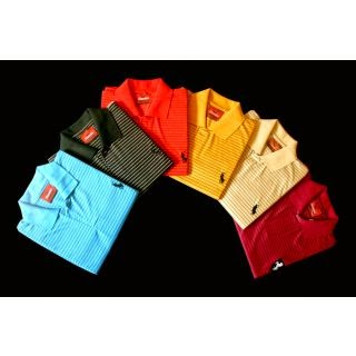 Shopclues: Buy POLO COLLAR T- SHIRT with Rs.4 CluesBucks at Rs.193.
