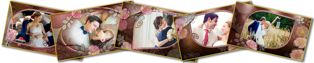 Proshow template wedding