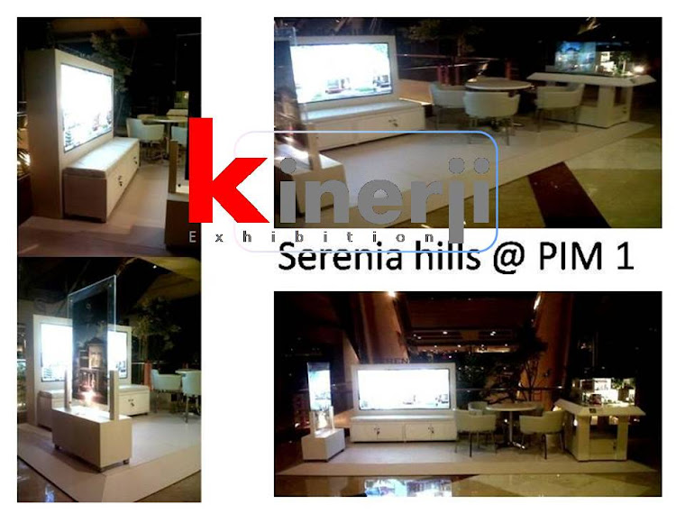 booth and stand pameran @ PIM2