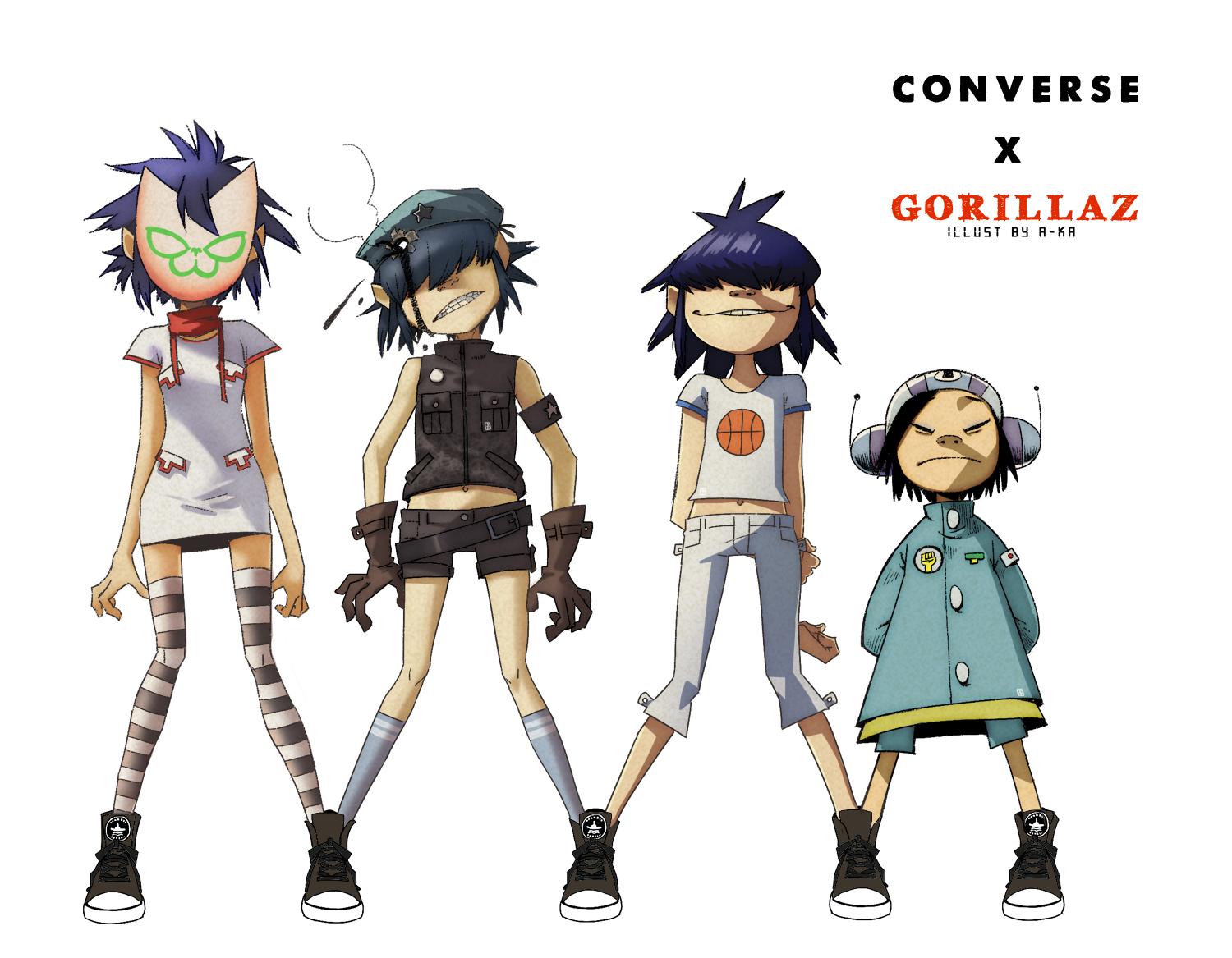 Gorillaz The Fall