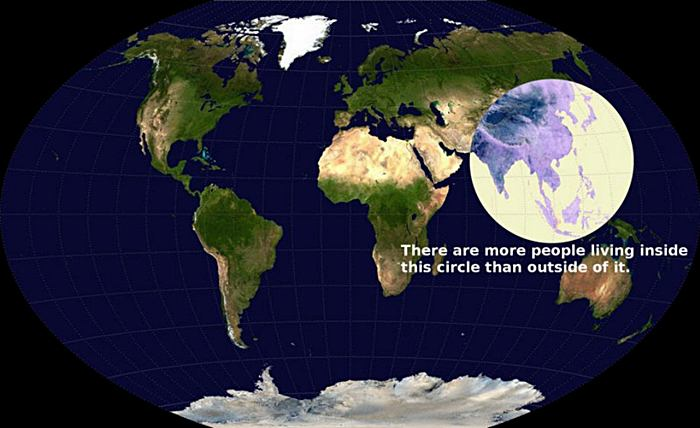 Visualizing Global Population Density