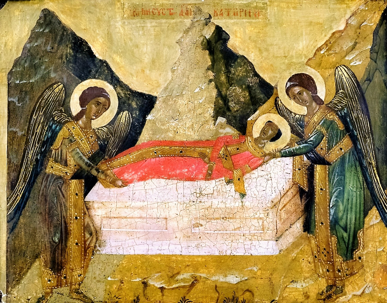 Saint Catherine of Alexandria, Part III -- Buried by Angels, Reburied by Monks