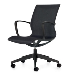 Global Total Office Solar Chair - Side View