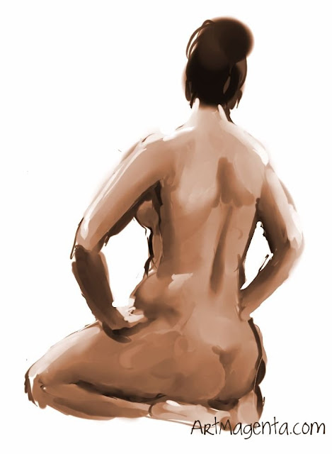 Figure drawing from ArtMagenta.com