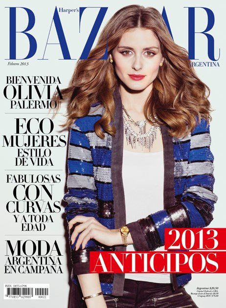 The olivia palermo lookbook olivia palermo in harper 39 s for Bazar online argentina