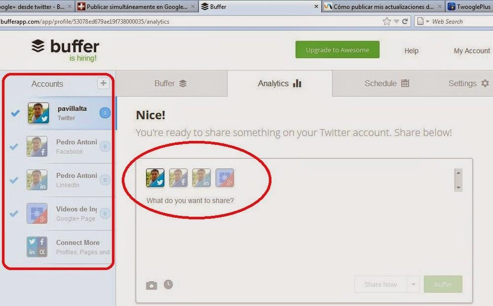 publicar_linkedin_twitter_facebook con BufferApp