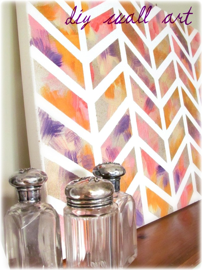 DIY Wall Art Painting