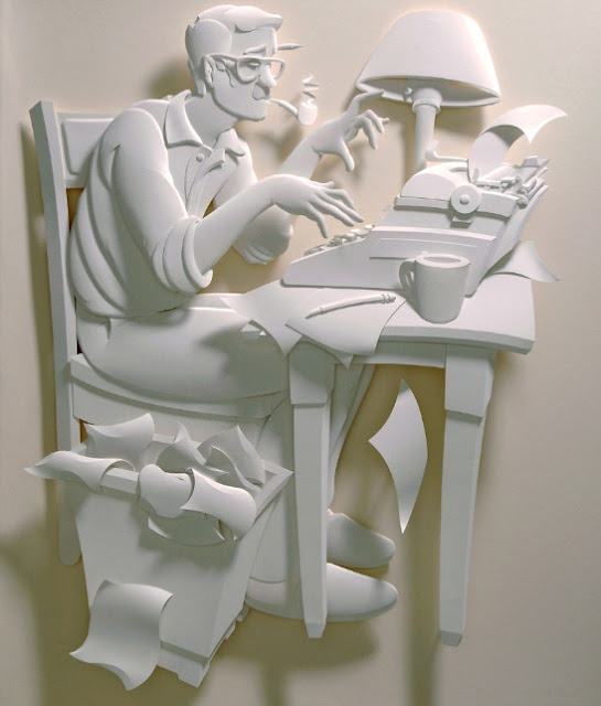 Jeff Nishinaka paper art