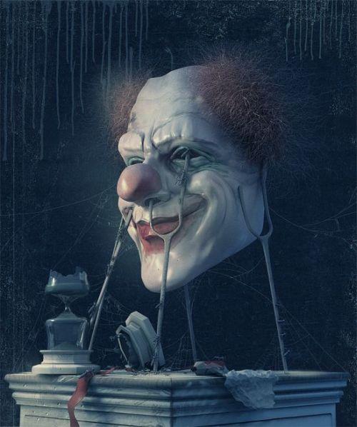 Andrew Ferez 25kartinok deviantart ilustrações sombrias surreais Você tem medo de palhaços?