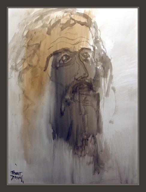 MOISES-BIBLIA-SINAI-ISRAEL-EGIPTO-REVELACIONES DIVINAS-ANUNNAKI-DIOS-PINTURA-PINTOR-ERNEST DESCALS-