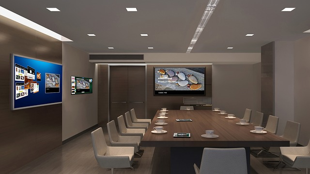 Ruang Rapat Tertutup Minimalis