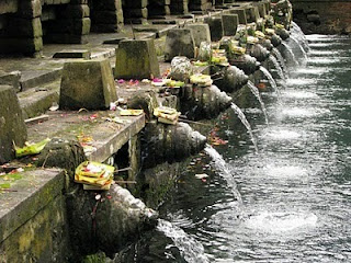 Picture of Tirta Empul Temple in Bali Indonesia