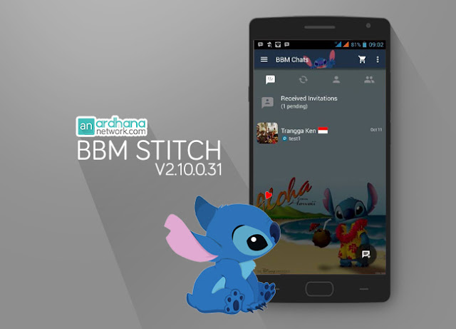 BBM Stitch - Ardhana Network